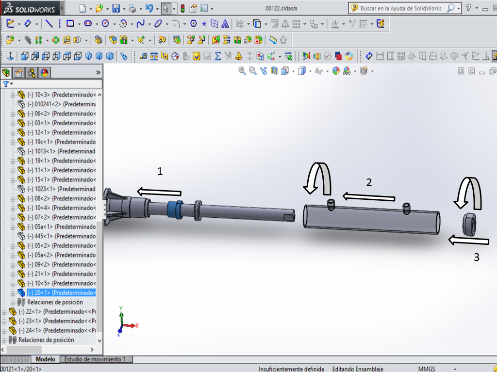 Solidworks cad power steering system assembly process Cad system